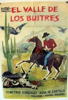 El jinete solitario en el valle de los buitres en ligne gratuit