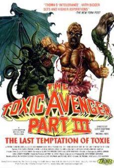 Ver película El Vengador Tóxico 3: La última tentación de Toxie