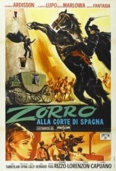 Zorro alla corte di Spagna en ligne gratuit