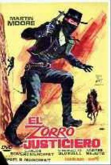 Ver película El Zorro justiciero