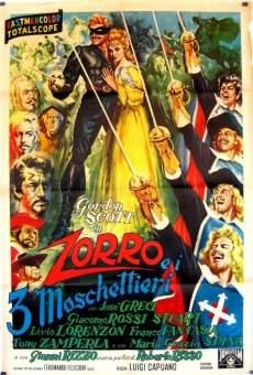 Ver película El Zorro y los tres mosqueteros