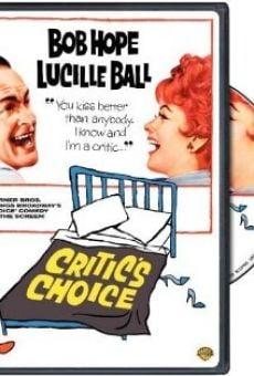 Critic's Choice on-line gratuito