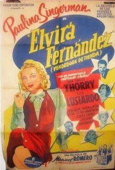 Ver película Elvira Fernández, vendedora de tienda