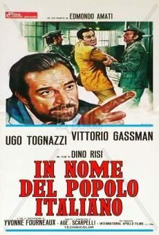 Ver película En nombre del pueblo italiano