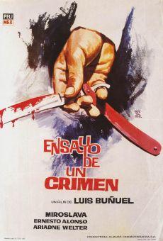 Ver película Ensayo de un crimen