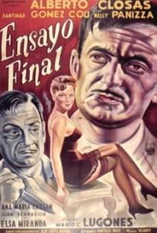 Ver película Ensayo final