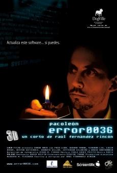 Error 0036 en ligne gratuit