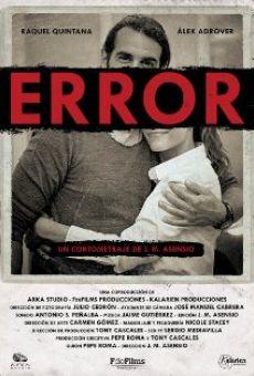 Ver película Error
