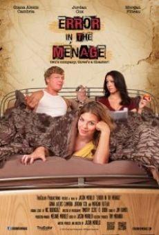 Watch Error in the Ménage online stream
