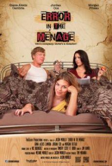Ver película Error in the Ménage
