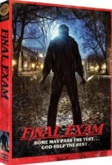 Final Exam gratis