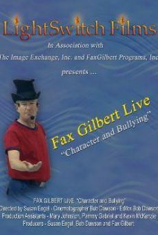 Ver película Fax Gilbert Live