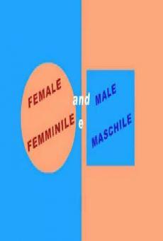 Femminile e maschile