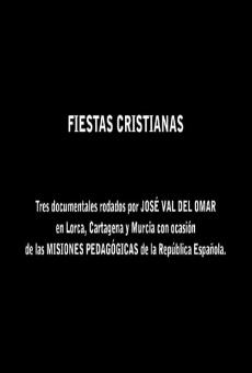 Fiestas Cristianas/Fiestas Profanas / Misiones Pedagógicas Fiestas cristianas y fiestas profanas en ligne gratuit