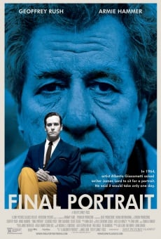 Final Portrait - L'arte di essere amici online streaming