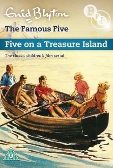 Ver película Cinco en una isla del tesoro