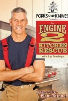 Ver película Forks Over Knives Presents: The Engine 2 Kitchen Rescue