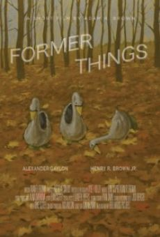 Former Things on-line gratuito
