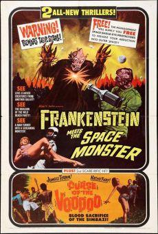 Frankenstein contra el monstruo del espacio online