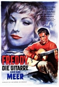 Freddy, su guitarra y el mar