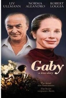 Gaby, una historia verdadera online