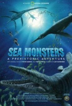 Ver película Gigantes del Océano. Una aventura prehistórica