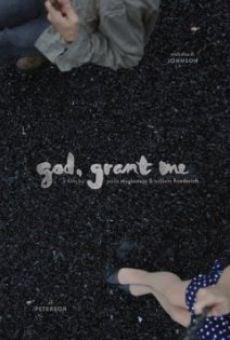 God, Grant Me on-line gratuito