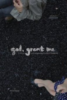 God, Grant Me online
