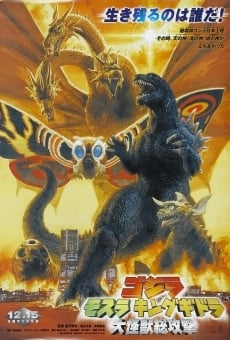 Ver película Godzilla, Mothra and King Ghidorah: Giant Monsters All-Out Attack