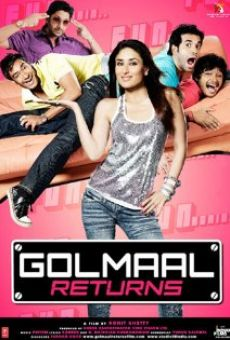 Watch Golmaal Returns online stream