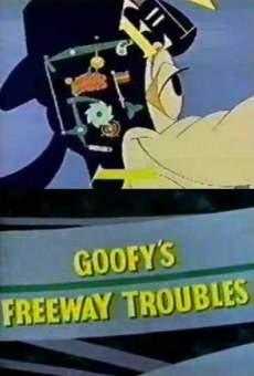 Ver película Goofy: Autopistafobia. Problemas en la autopista