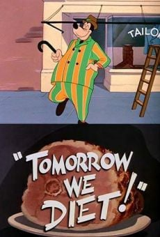 Goofy in Tomorrow We Diet!