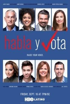 Ver película Habla y vota