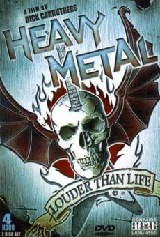 Heavy Metal: Louder Than Life online