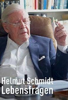 Ver película Helmut Schmidt - Lebensfragen