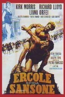 Ver película Hércules contra Sansón