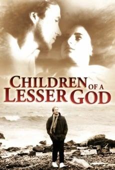 Ver película Hijos de un dios menor