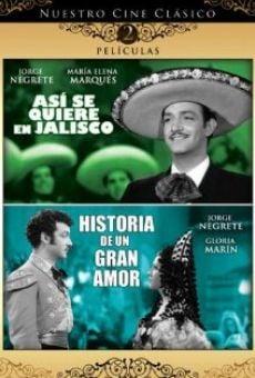 Ver película Historia de un gran amor