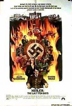 Gli ultimi 10 giorni di Hitler online