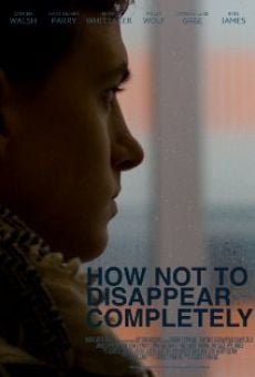 Película: How Not to Disappear Completely