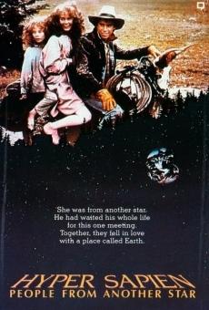 Ver película Hyper Sapien: Amigos de las estrellas