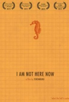 I Am Not Here Now online