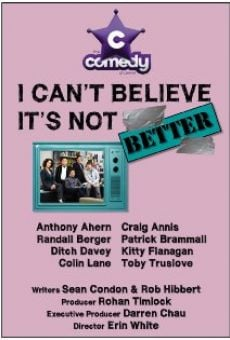I Can't Believe It's Not Better en ligne gratuit