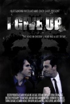 Película: I Give Up