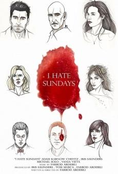 Odio los domingos