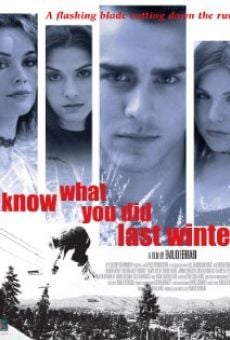 I Know What You Did Last Winter online streaming