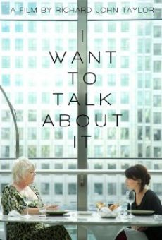 Película: I Want to Talk About It