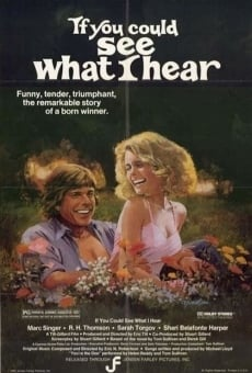 Ver película If You Could See What I Hear