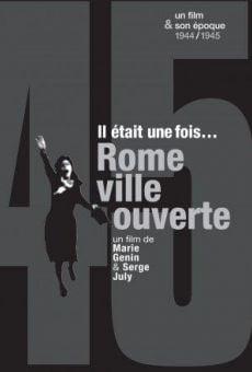 Il était une fois... Rome, ville ouverte gratis