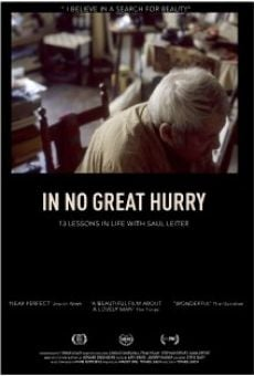 Película: In No Great Hurry: 13 Lessons in Life with Saul Leiter